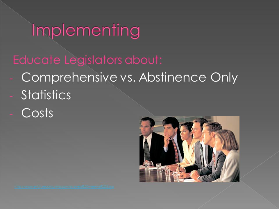 Implementing Comprehensive vs. Abstinence Only Statistics Costs