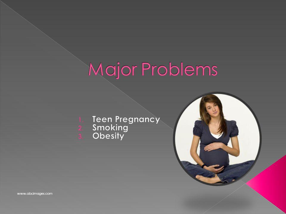 Teen Pregnancy Smoking Obesity