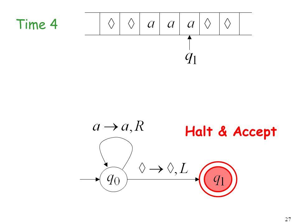 Time 4 Halt & Accept
