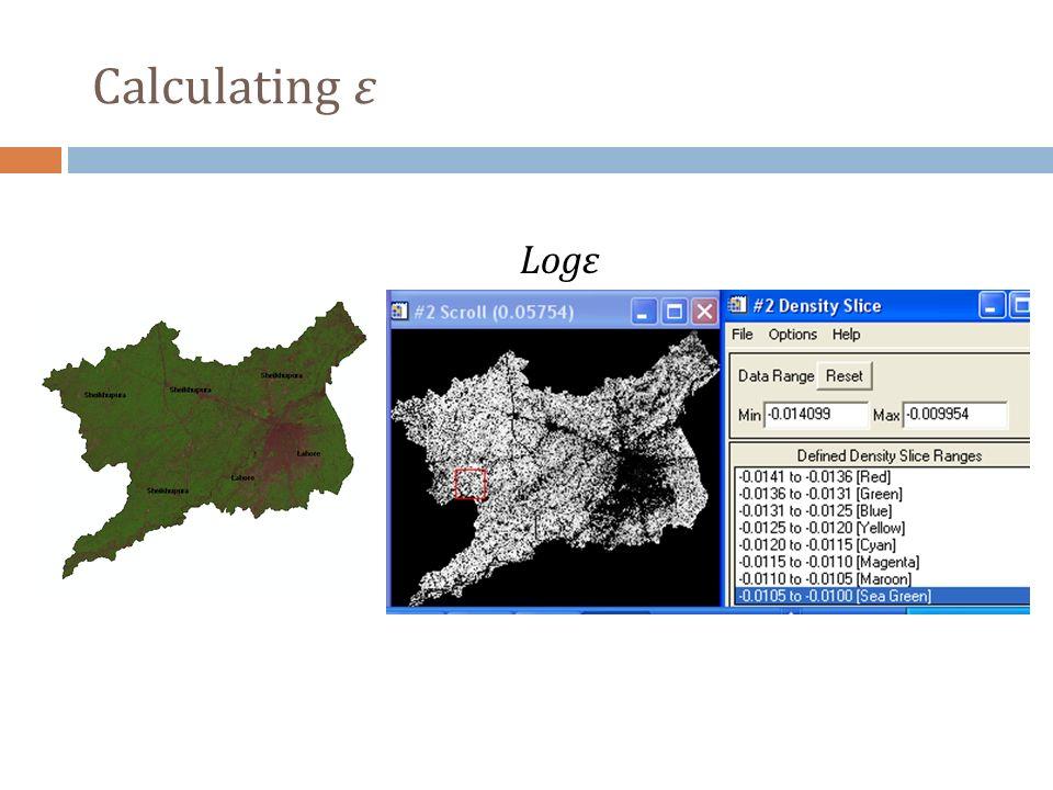 Calculating ε Logε