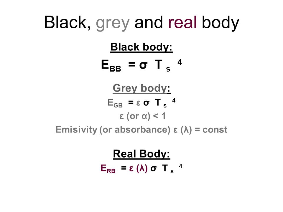 Black, grey and real body