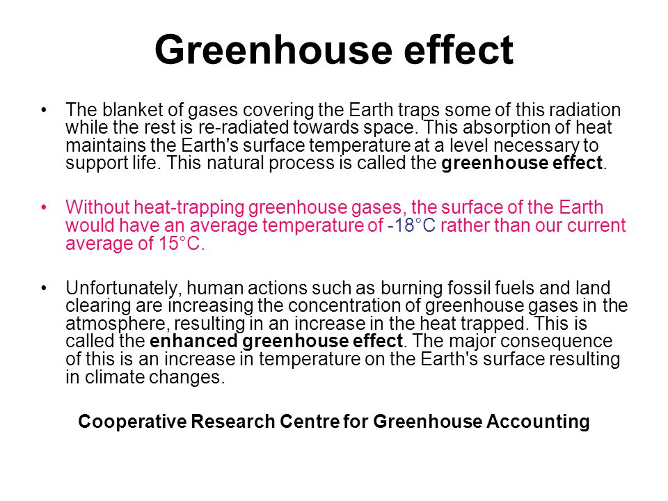 Cooperative Research Centre for Greenhouse Accounting