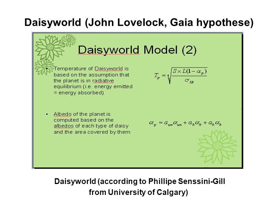 Daisyworld (John Lovelock, Gaia hypothese)