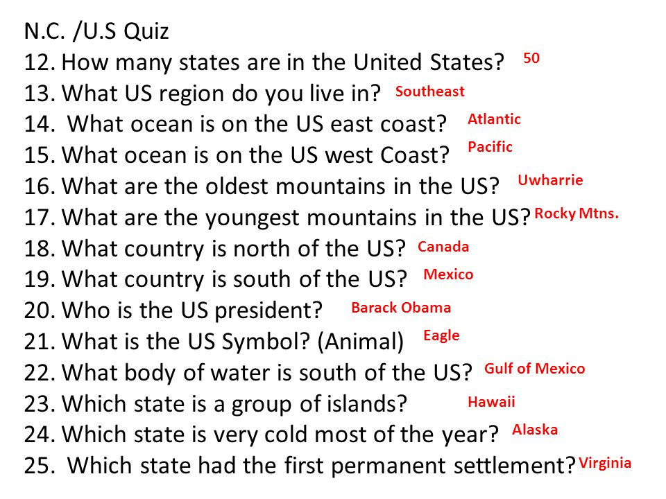 How many states are in the United States