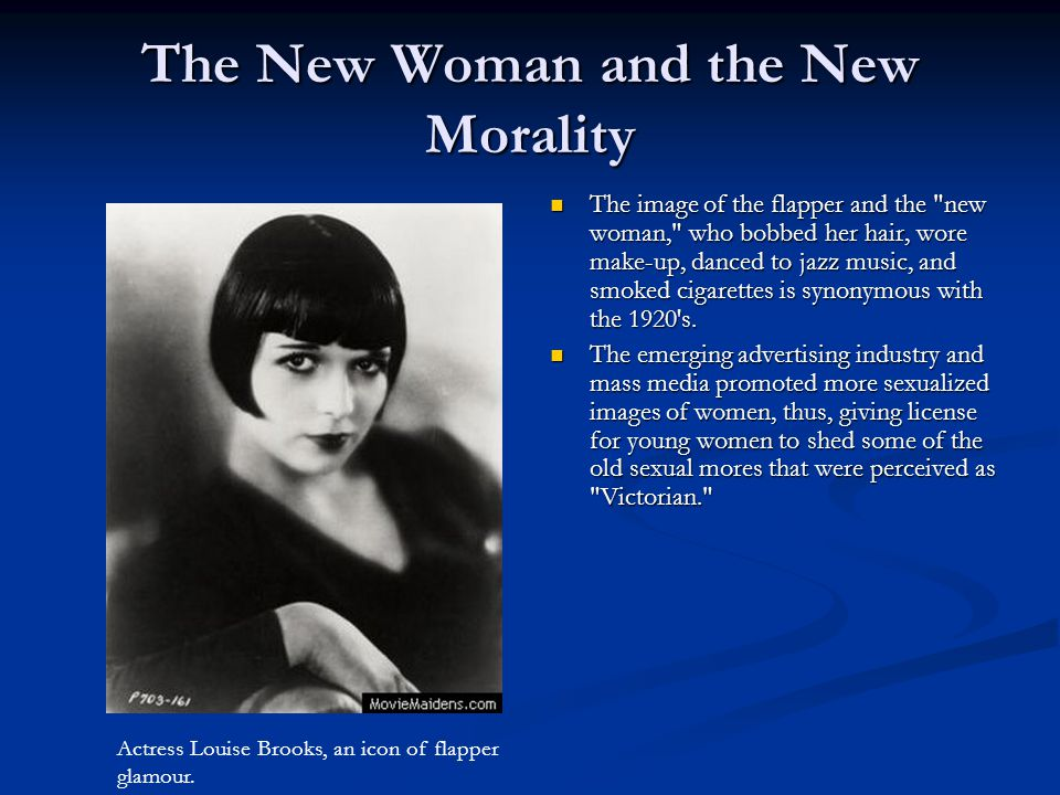 The New Woman and the New Morality