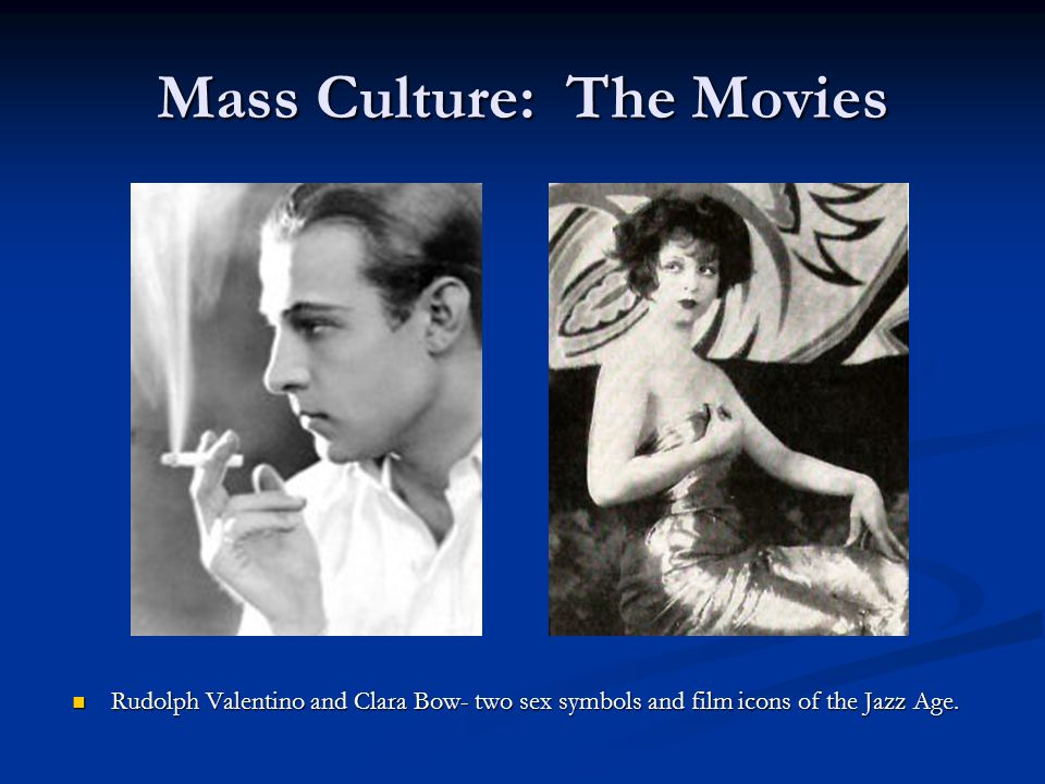 Mass Culture: The Movies
