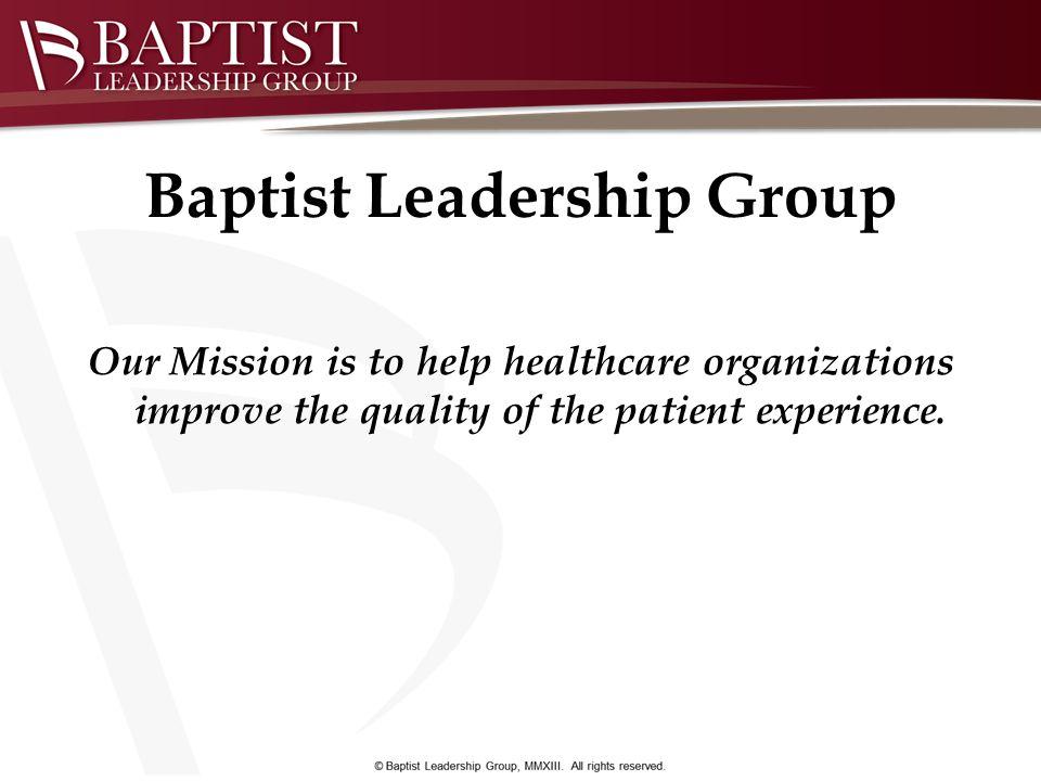 Baptist Leadership Group