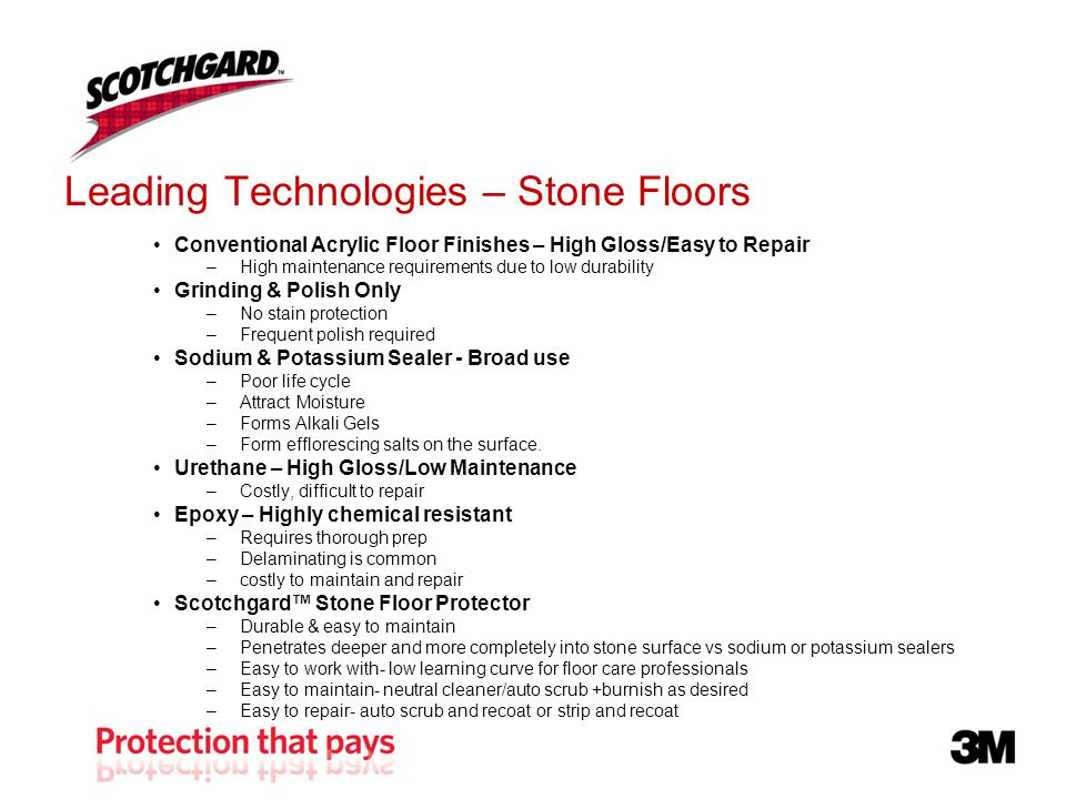 Leading Technologies – Stone Floors