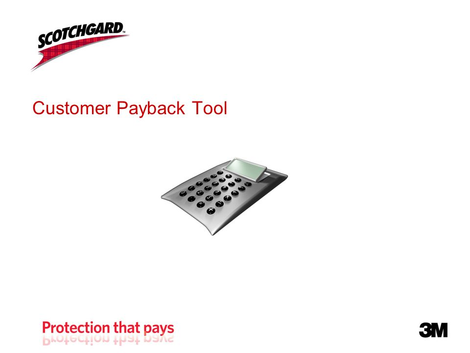 Customer Payback Tool