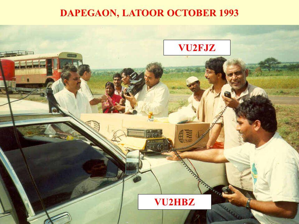 DAPEGAON, LATOOR OCTOBER 1993