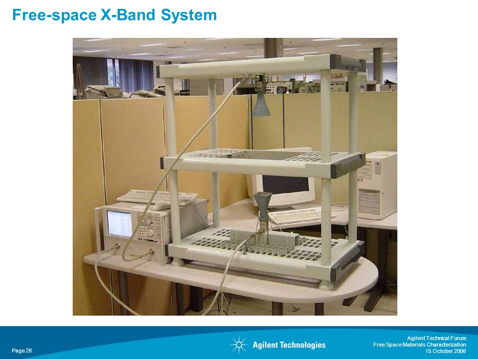 Free-space X-Band System