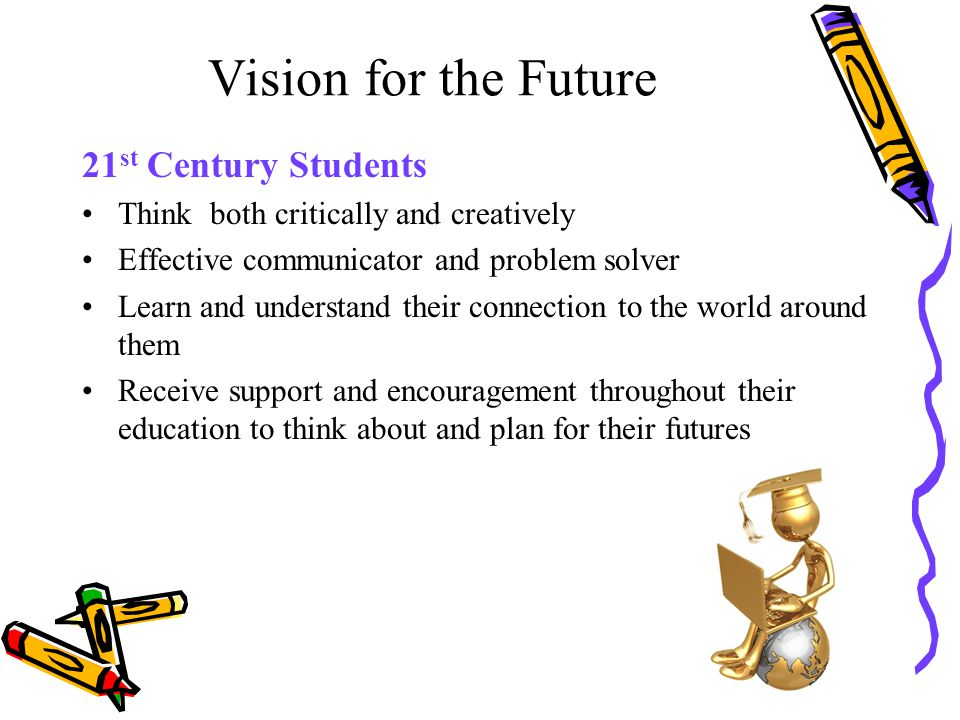 Vision for the Future 21st Century Students