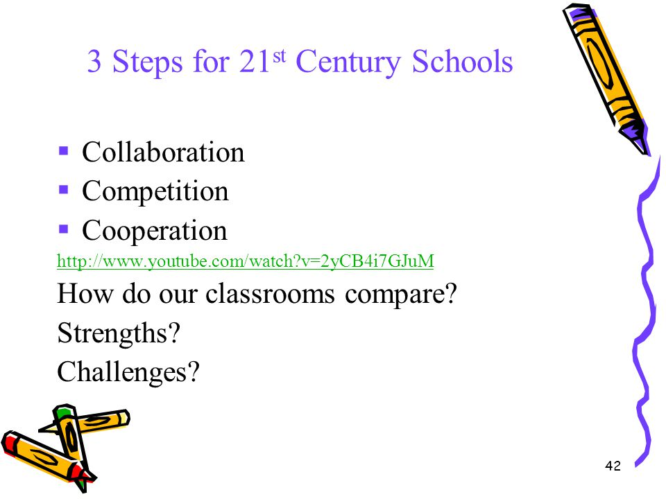 3 Steps for 21st Century Schools