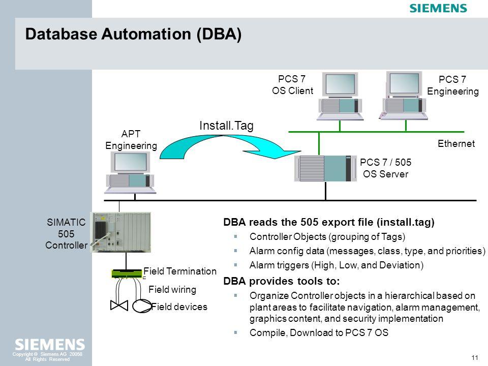 Database Automation (DBA)