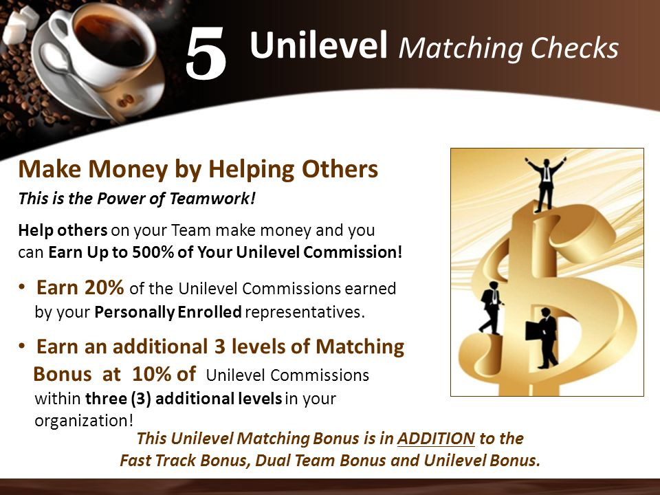 Unilevel Matching Checks