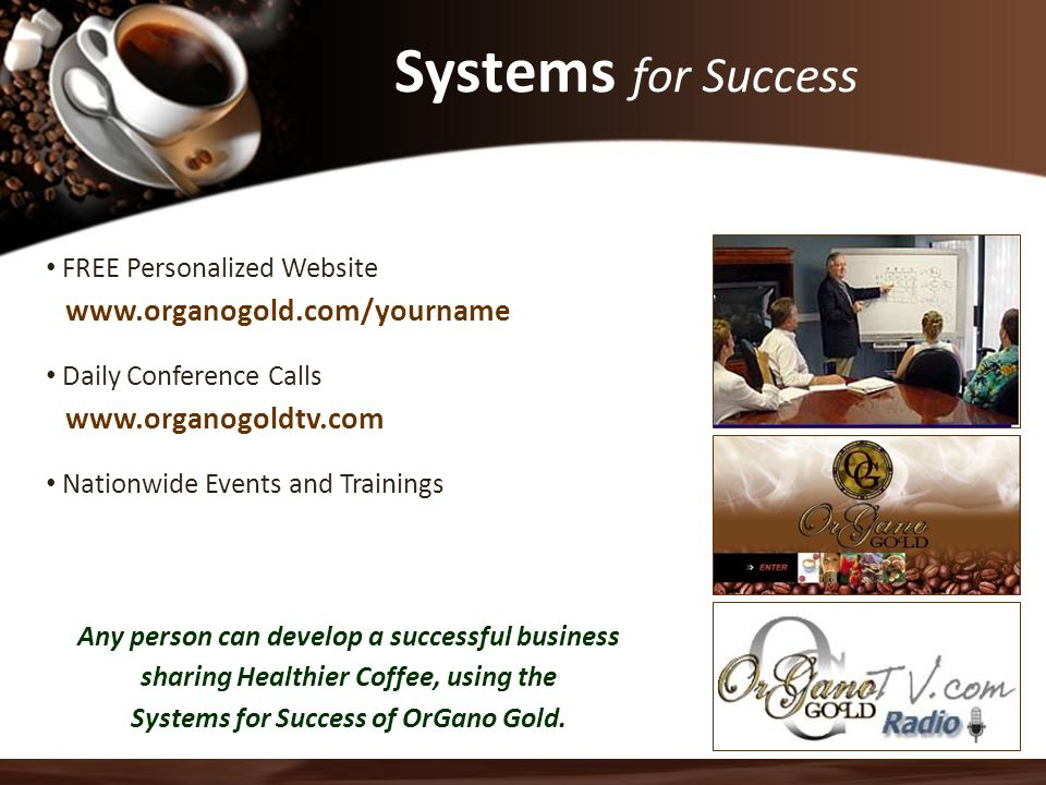 Systems for Success FREE Personalized Website