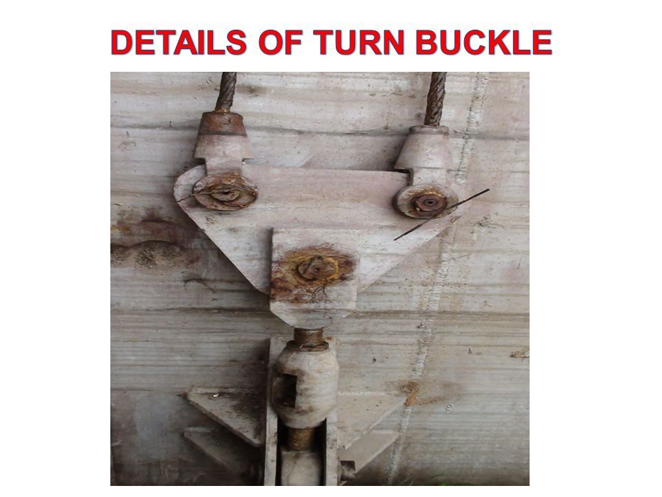 DETAILS OF TURN BUCKLE