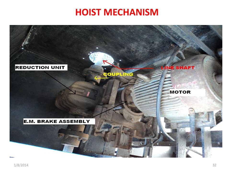 HOIST MECHANISM 3/25/2017