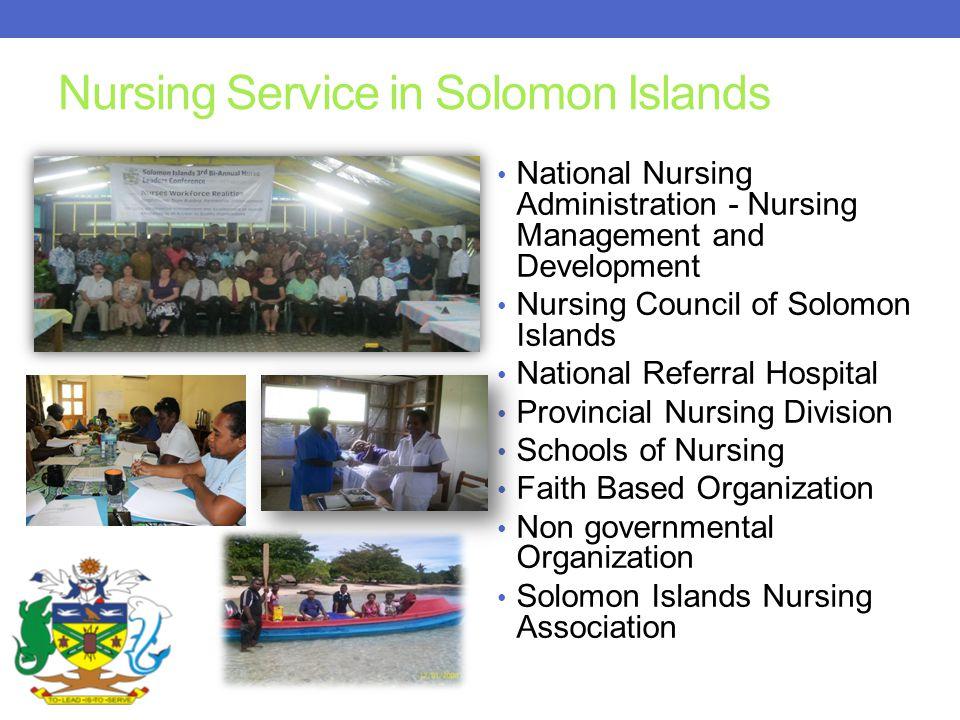 Nursing Service in Solomon Islands