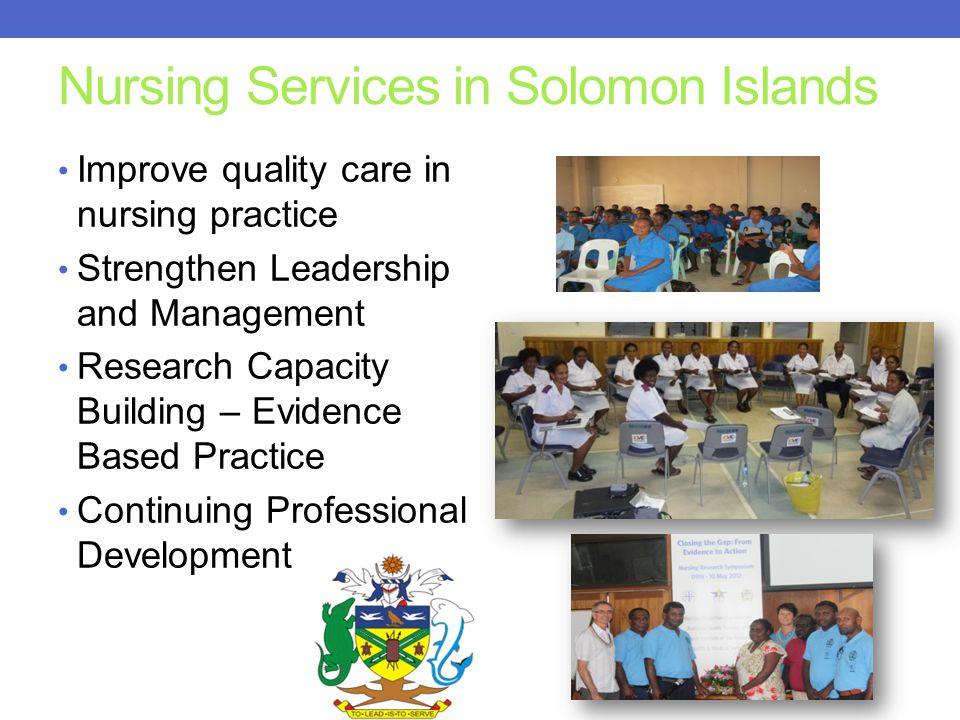 Nursing Services in Solomon Islands
