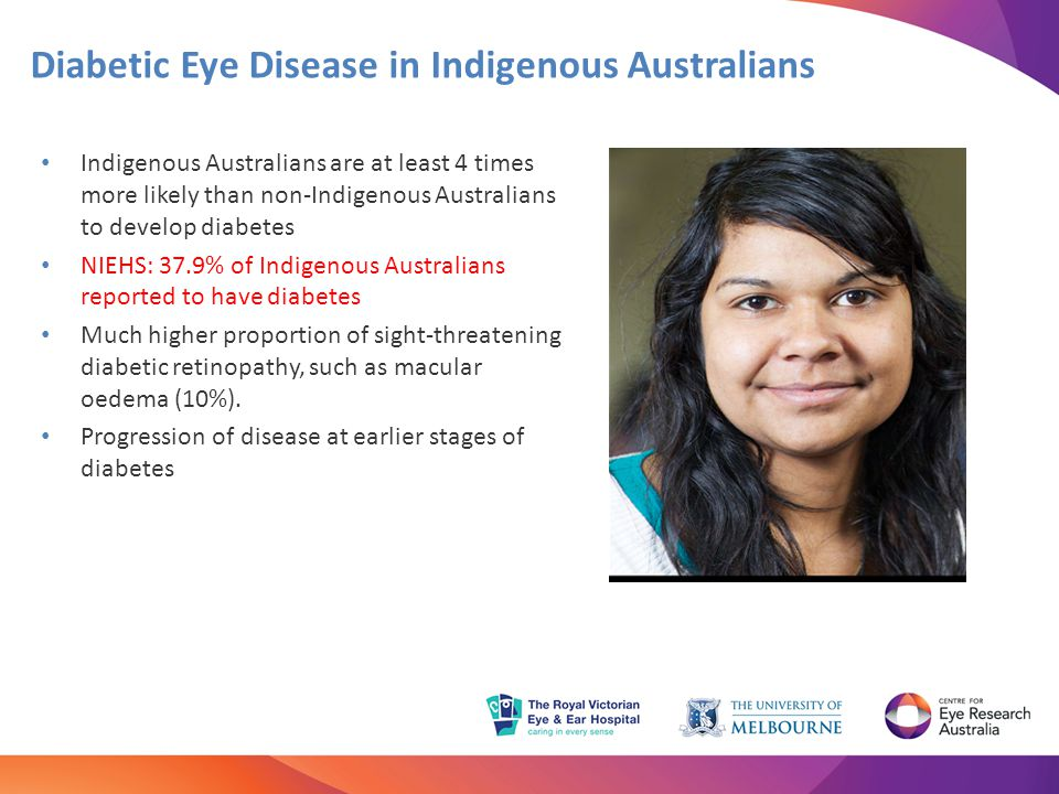 Diabetic Eye Disease in Indigenous Australians