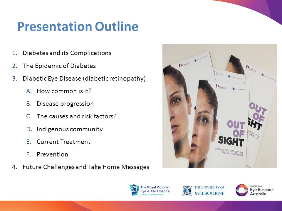 Presentation Outline Diabetes and its Complications