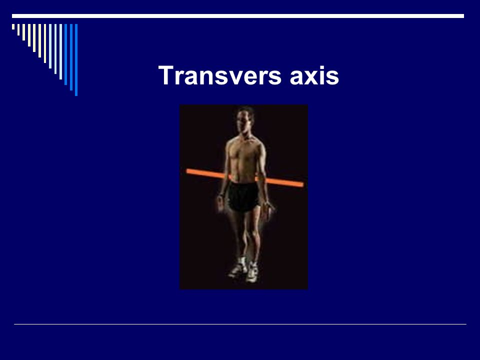 Transvers axis
