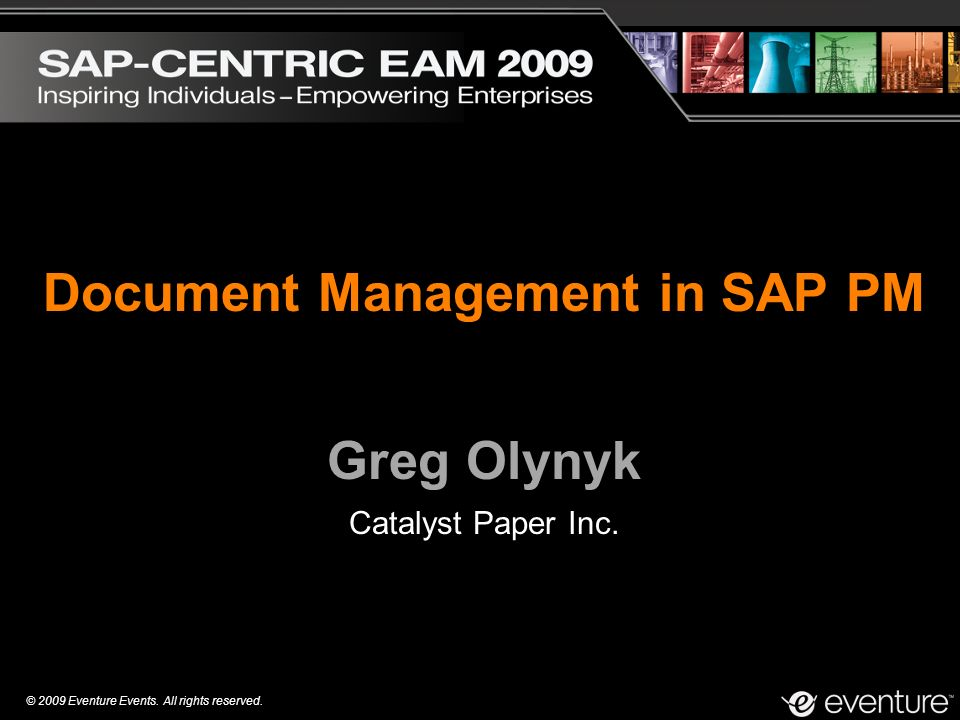 Document Management in SAP PM