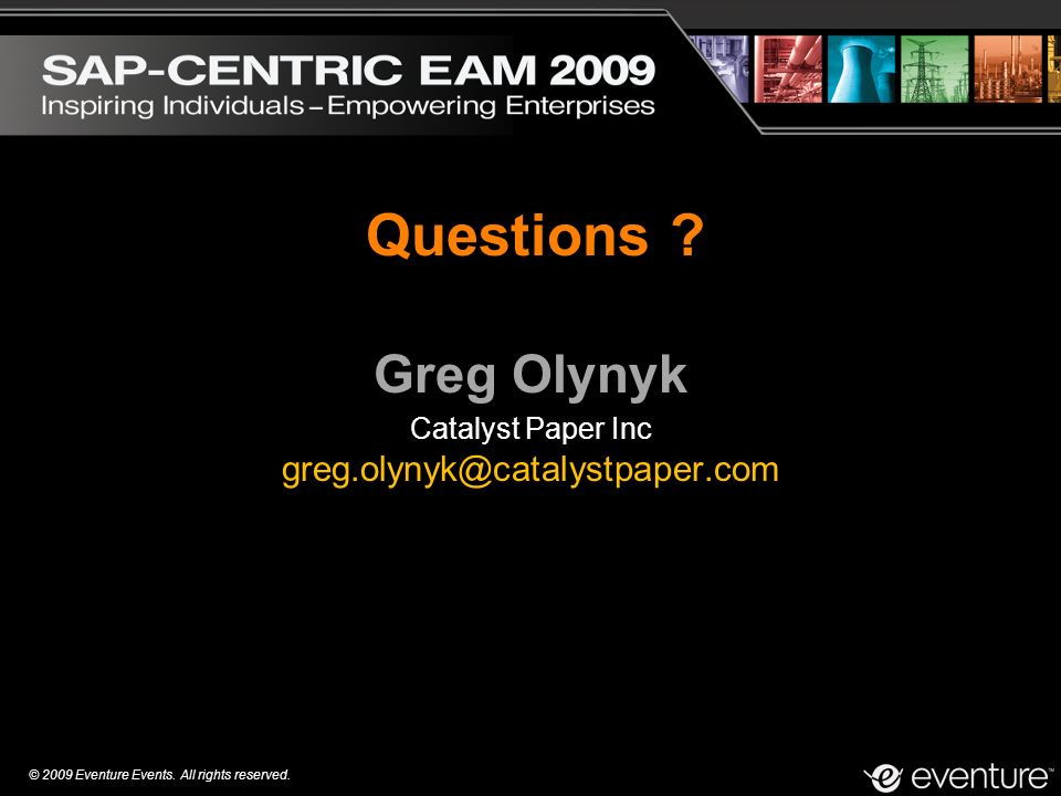 Greg Olynyk Catalyst Paper Inc greg.olynyk@catalystpaper.com