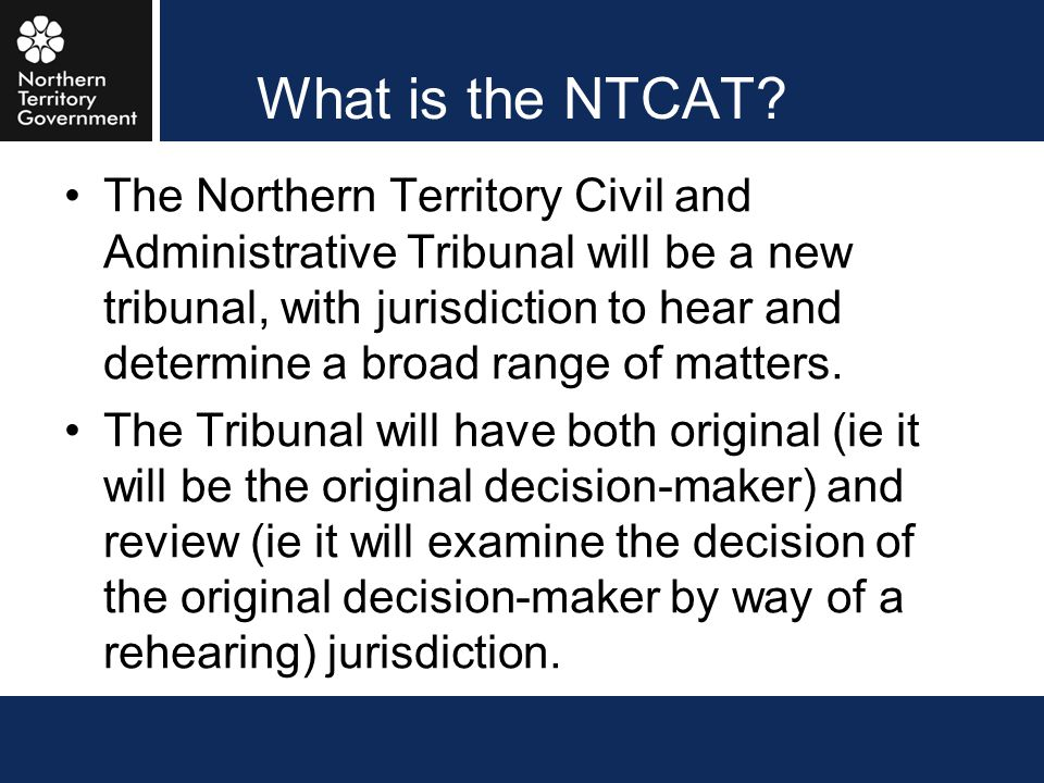What is the NTCAT