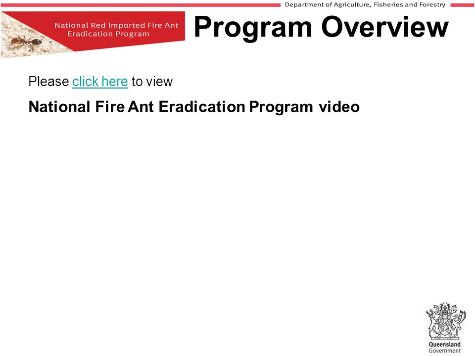 Program Overview Please click here to view