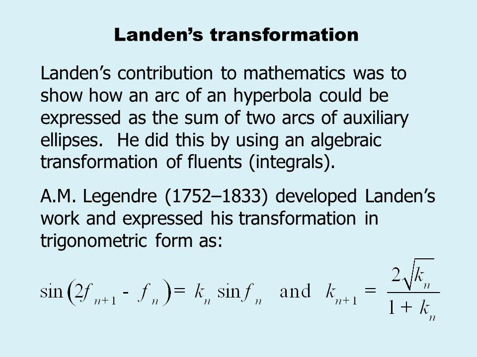 Landen's transformation
