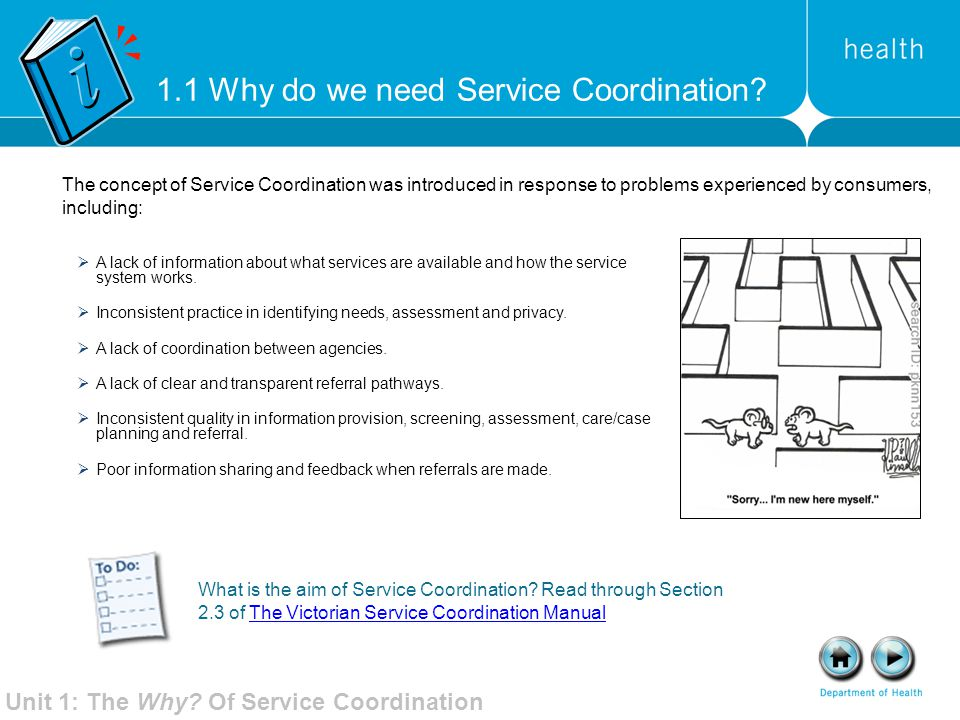 1.1 Why do we need Service Coordination