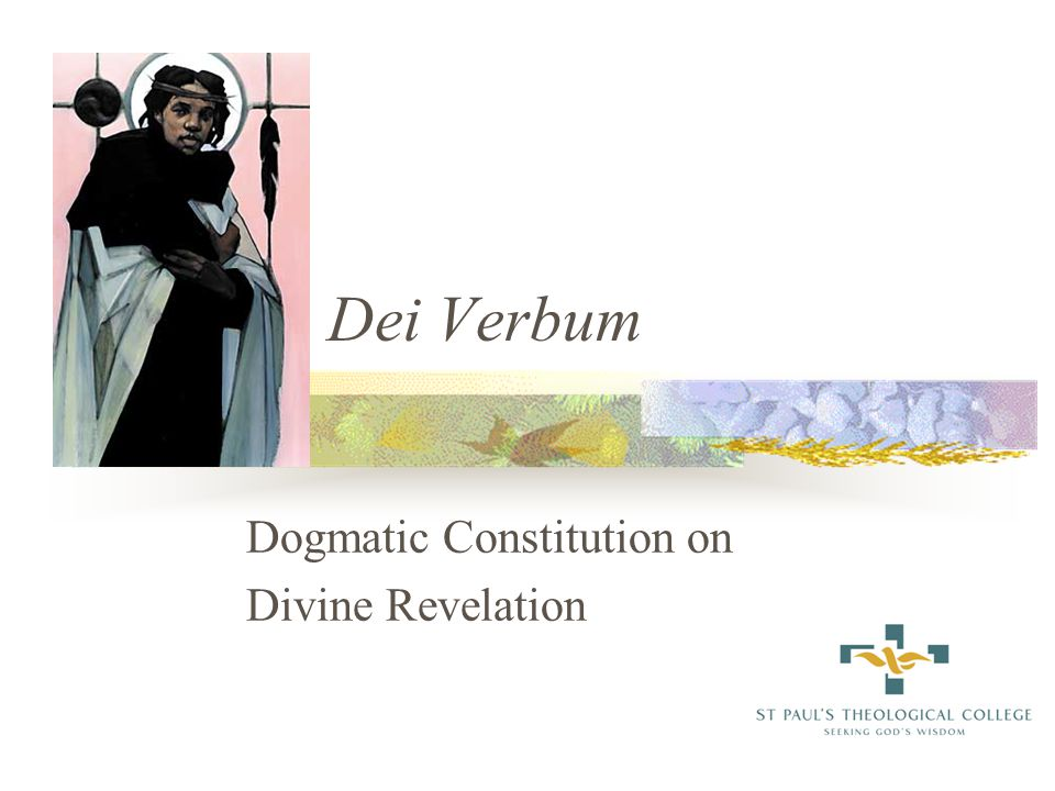 on the dogmatic constitution on divine revelation 1965 essay
