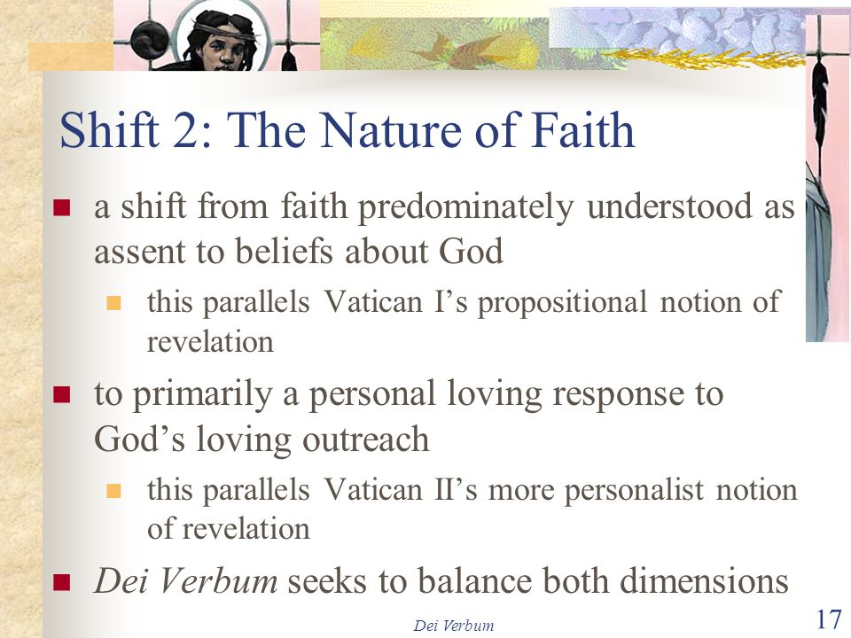 Shift 2: The Nature of Faith
