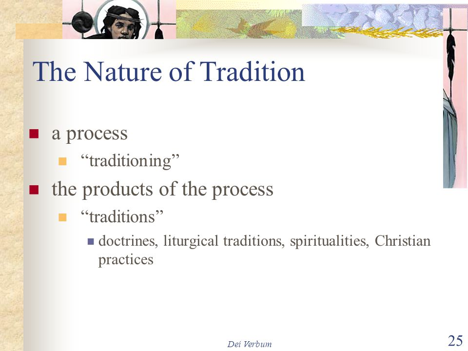 The Nature of Tradition
