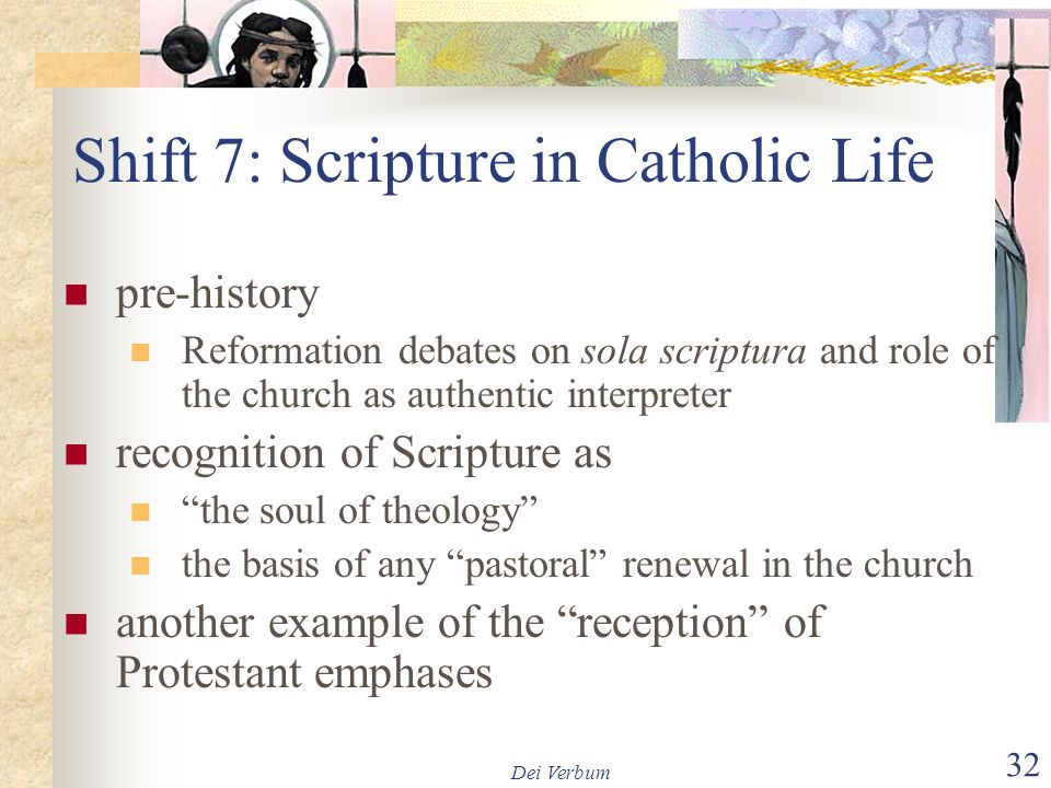 Shift 7: Scripture in Catholic Life