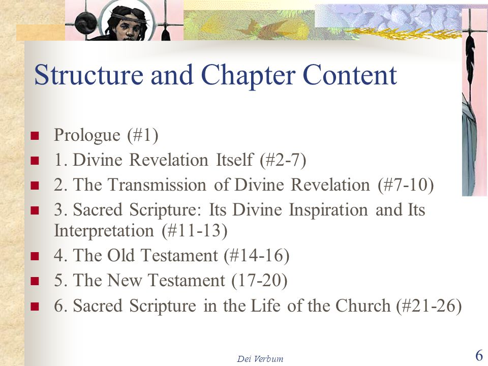 Structure and Chapter Content