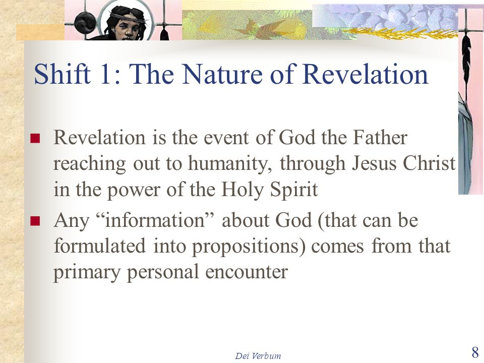 Shift 1: The Nature of Revelation
