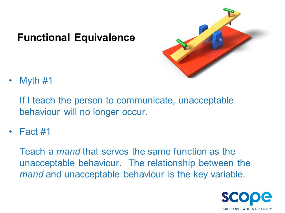 Functional Equivalence