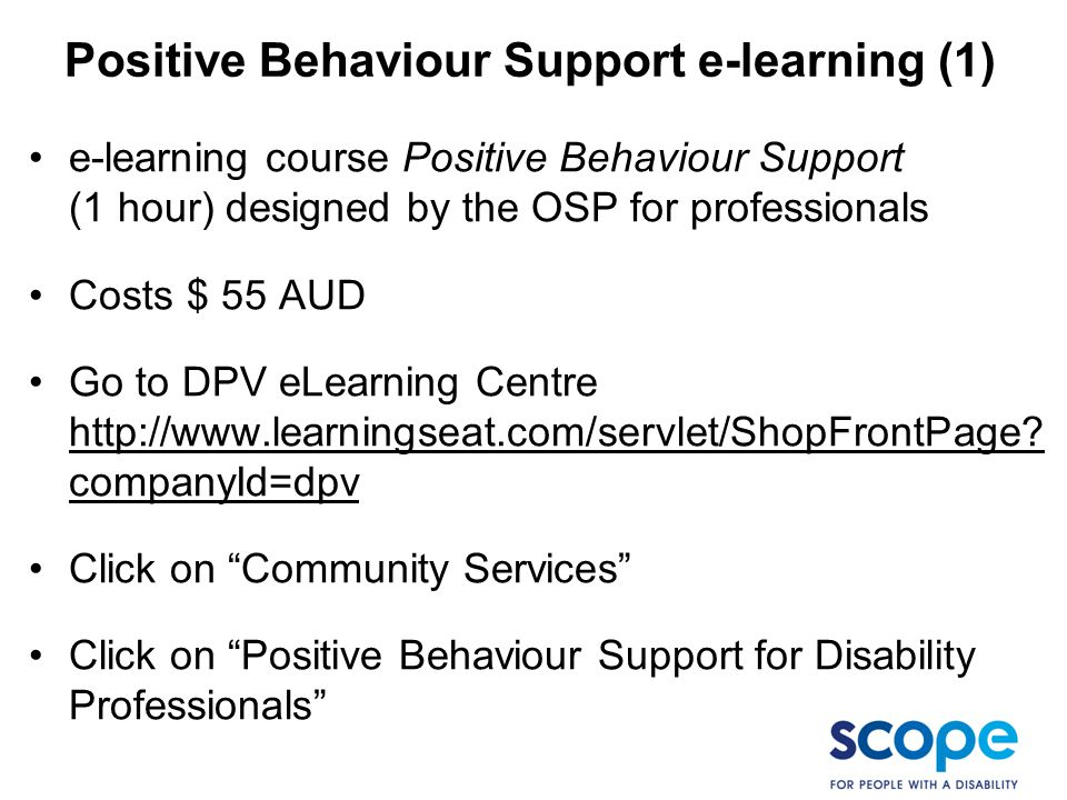 Positive Behaviour Support e-learning (1)