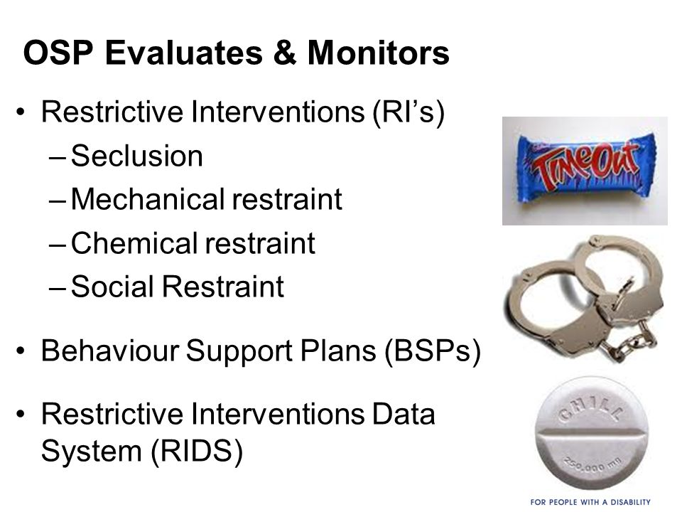 OSP Evaluates & Monitors