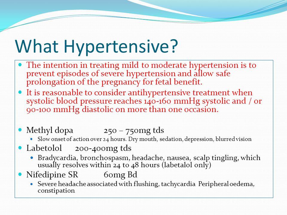 What Hypertensive