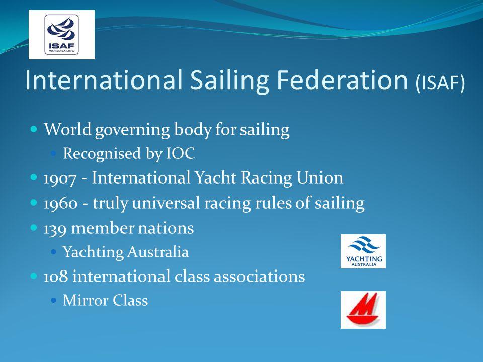 International Sailing Federation (ISAF)