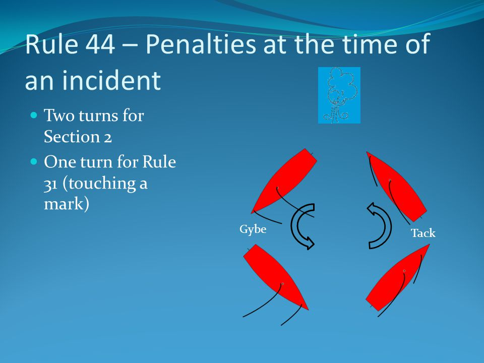 Rule 44 – Penalties at the time of an incident