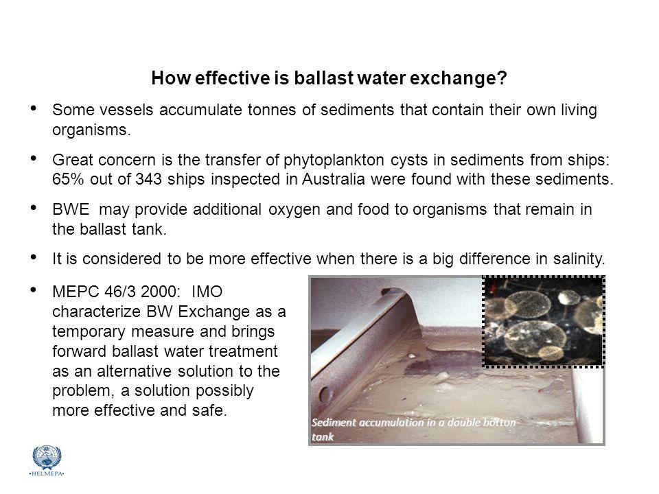 How effective is ballast water exchange