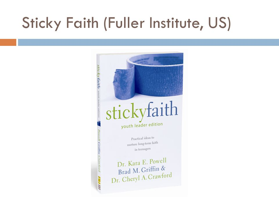 Sticky Faith (Fuller Institute, US)