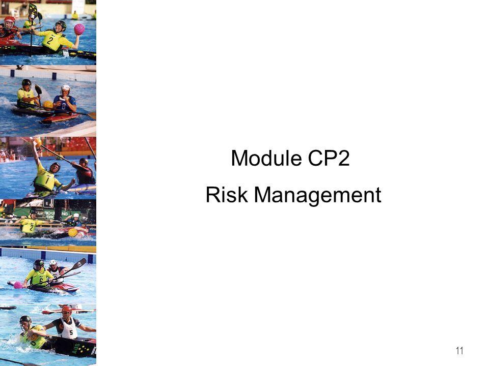 Module CP2 Risk Management