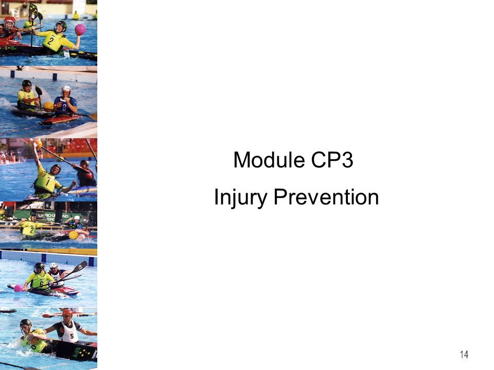 Module CP3 Injury Prevention