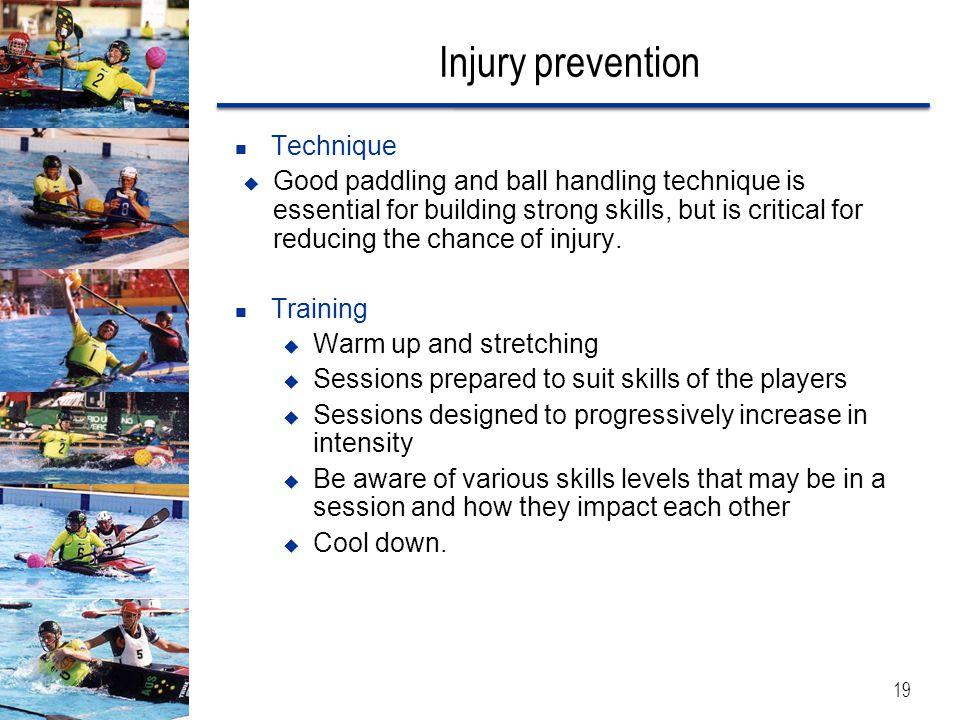 Injury prevention Technique